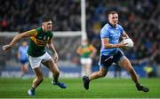 25 January 2020; Ciarán Kilkenny of Dublin and Gavin O'Brien of Kerry during the Allianz Football League Division 1 Round 1 match between Dublin and Kerry at Croke Park in Dublin. Photo by Ramsey Cardy/Sportsfile