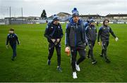 26 January 2020; Kevin Moran of Waterford, centre, arrives with his team-mates prior to the Allianz Hurling League Division 1 Group A Round 1 match between Waterford and Cork at Walsh Park in Waterford. Photo by David Fitzgerald/Sportsfile