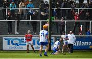 26 January 2020; Patrick Horgan of Cork celebrates after scoring his side's second goal the Allianz Hurling League Division 1 Group A Round 1 match between Waterford and Cork at Walsh Park in Waterford. Photo by David Fitzgerald/Sportsfile