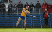 26 January 2020; John Conlon of Clare during the Allianz Hurling League Division 1 Group B Round 1 match between Clare and Carlow at Cusack Park in Ennis, Clare. Photo by Diarmuid Greene/Sportsfile