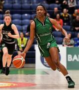 26 January 2020; Trudy Walker of Portlaoise Panthers during the Hula Hoops Women's Division One National Cup Final between Portlaoise Panthers and Trinity Meteors at the National Basketball Arena in Tallaght, Dublin. Photo by Brendan Moran/Sportsfile