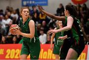 26 January 2020; Claire Melia of Portlaoise Panthers during the Hula Hoops Women's Division One National Cup Final between Portlaoise Panthers and Trinity Meteors at the National Basketball Arena in Tallaght, Dublin. Photo by Brendan Moran/Sportsfile