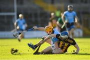 26 January 2020; Eamon Dillon of Dublin in action against Huw Lawlor of Kilkenny during the Allianz Hurling League Division 1 Group B Round 1 match between Kilkenny and Dublin at UPMC Nowlan Park in Kilkenny. Photo by Ray McManus/Sportsfile
