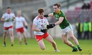 26 January 2020; Conor Meyler of Tyrone in action against Cillian O'Sullivan of Meath during the Allianz Football League Division 1 Round 1 match between Tyrone and Meath at Healy Park in Omagh, Tyrone. Photo by Oliver McVeigh/Sportsfile