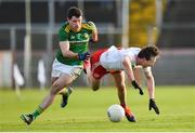 26 January 2020; Colm Cavanagh of Tyrone in action against Donal Keogan of Meath during the Allianz Football League Division 1 Round 1 match between Tyrone and Meath at Healy Park in Omagh, Tyrone. Photo by Oliver McVeigh/Sportsfile