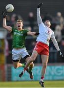 26 January 2020; Shane Walsh of Meath in action against Michael Cassidy of Tyrone during the Allianz Football League Division 1 Round 1 match between Tyrone and Meath at Healy Park in Omagh, Tyrone. Photo by Oliver McVeigh/Sportsfile