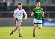 26 January 2020; Liam Rafferty of Tyrone in action against Shane Walsh of Meath during the Allianz Football League Division 1 Round 1 match between Tyrone and Meath at Healy Park in Omagh, Tyrone. Photo by Oliver McVeigh/Sportsfile