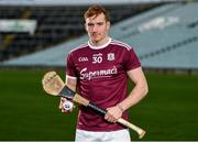 27 January 2020; Conor Whelan of Galway stands for a portrait during a media event at the LIT Gaelic Grounds in advance of the Allianz Hurling League Division 1 Group A Round 2 match between Limerick and Galway on Sunday. Photo by Harry Murphy/Sportsfile