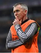 25 January 2020; Magheracloone manager James Kieran during the AIB GAA Football All-Ireland Intermediate Club Championship Final match between Magheracloone and Oughterard at Croke Park in Dublin. Photo by Ramsey Cardy/Sportsfile