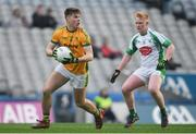 25 January 2020; Eoin Porter of Rathgarogue-Cushinstown during the AIB GAA Football All-Ireland Junior Club Championship Final match between Na Gaeil and Rathgarogue-Cushinstown at Croke Park in Dublin. Photo by Ramsey Cardy/Sportsfile