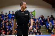 25 January 2020; Referee Maciej Nazimek during the Hula Hoops Pat Duffy National Cup Final between DBS Éanna and Griffith College Templeogue at the National Basketball Arena in Tallaght, Dublin. Photo by Brendan Moran/Sportsfile