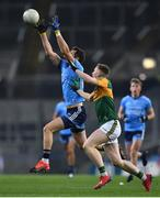 25 January 2020; Dean Rock of Dublin and Jason Foley of Kerry during the Allianz Football League Division 1 Round 1 match between Dublin and Kerry at Croke Park in Dublin. Photo by Ben McShane/Sportsfile