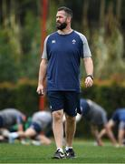 28 January 2020; Head coach Andy Farrell during Ireland Rugby squad training at The Campus in Quinta da Lago, Portugal. Photo by Brendan Moran/Sportsfile