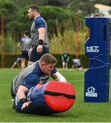 28 January 2020; Tadhg Furlong during Ireland Rugby squad training at The Campus in Quinta da Lago, Portugal. Photo by Brendan Moran/Sportsfile