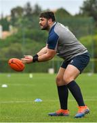 28 January 2020; Tom O'Toole during Ireland Rugby squad training at The Campus in Quinta da Lago, Portugal. Photo by Brendan Moran/Sportsfile