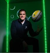 28 January 2020; Irish rugby legend Jamie Heaslip is pictured at the unveiling of Aviva's new Sensory Hub in Aviva Stadium. Aviva, Ireland's largest insurer, and proud sponsors of the home of Irish rugby and soccer launched the initiative to make Aviva Stadium a more inclusive space for people with additional sensory needs. The state-of-the-art sensory booth is free for any fan to use during their visit to Aviva Stadium. For more information follow Aviva on Instagram, Twitter, and Facebook or visit www.aviva.ie/sponsorship. Photo by Ramsey Cardy/Sportsfile