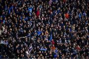 25 January 2020; Dublin supporters, on Hill 16, celebrate a score during the Allianz Football League Division 1 Round 1 match between Dublin and Kerry at Croke Park in Dublin. Photo by Ray McManus/Sportsfile