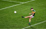 25 January 2020; The Kerry captain David Clifford kicks a free during the Allianz Football League Division 1 Round 1 match between Dublin and Kerry at Croke Park in Dublin. Photo by Ray McManus/Sportsfile