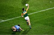 25 January 2020; Kerry captain David Clifford controls the ball, after rounding David Byrne of Dublin, on his way to score a goal during the Allianz Football League Division 1 Round 1 match between Dublin and Kerry at Croke Park in Dublin. Photo by Ray McManus/Sportsfile