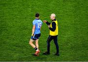 25 January 2020; Dublin selector Paul Clarke in conversation with Dean Rock of Dublin during the Allianz Football League Division 1 Round 1 match between Dublin and Kerry at Croke Park in Dublin. Photo by Ray McManus/Sportsfile