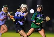 28 January 2020; Clodagh McIntire of UCD shoots to score a goal during the Purcell Cup Camogie Championship Round 2 match between UCD and Athlone IT at UCD Belfield in Dublin. Photo by Matt Browne/Sportsfile
