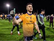 29 January 2020; Kevin Flynn of DCU Dóchas Éireann following his side's victory of the Sigerson Cup Final match between DCU Dóchas Éireann and IT Carlow at Dublin City University Sportsgrounds in Glasnevin, Dublin. Photo by Seb Daly/Sportsfile