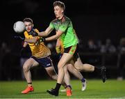 29 January 2020; Chris Byrne of IT Carlow during the Sigerson Cup Final match between DCU Dóchas Éireann and IT Carlow at Dublin City University Sportsgrounds in Glasnevin, Dublin. Photo by Seb Daly/Sportsfile