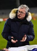25 January 2020; Eir Sport pundit Joe Brolly before the Allianz Football League Division 1 Round 1 match between Donegal and Mayo at MacCumhaill Park in Ballybofey, Donegal. Photo by Oliver McVeigh/Sportsfile