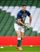 31 January 2020; Robbie Henshaw during an Ireland Rugby captain's run at the Aviva Stadium in Dublin. Photo by Seb Daly/Sportsfile