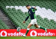 31 January 2020; Ross Byrne during an Ireland Rugby captain's run at the Aviva Stadium in Dublin. Photo by Seb Daly/Sportsfile