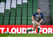 31 January 2020; John Cooney during an Ireland Rugby captain's run at the Aviva Stadium in Dublin. Photo by Seb Daly/Sportsfile
