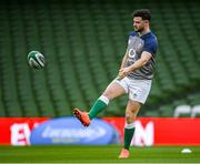 31 January 2020; Robbie Henshaw during the Ireland Rugby captain's run at the Aviva Stadium in Dublin. Photo by Ramsey Cardy/Sportsfile