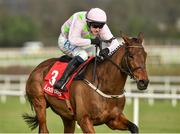 1 February 2020; Chacun Pour Soi, with Paul Townend up, on their way to winning The Ladbrokes Dublin Steeplechase during Day One of the Dublin Racing Festival at Leopardstown Racecourse in Dublin. Photo by Matt Browne/Sportsfile