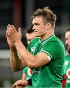 1 February 2020; Josh van der Flier of Ireland following the Guinness Six Nations Rugby Championship match between Ireland and Scotland at the Aviva Stadium in Dublin. Photo by Seb Daly/Sportsfile