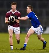 1 February 2020; Ray Connellan of Westmeath in action against Evan Doughty of Cavan during the Allianz Football League Division 2 Round 2 match between Cavan and Westmeath at Kingspan Breffni in Cavan. Photo by Oliver McVeigh/Sportsfile