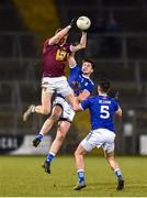 1 February 2020; Ray Connellan of Westmeath in action against Thomas Galligan of Cavan during the Allianz Football League Division 2 Round 2 match between Cavan and Westmeath at Kingspan Breffni in Cavan. Photo by Oliver McVeigh/Sportsfile