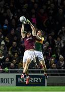 1 February 2020; Damien Comer of Galway in action against Paul Murphy of Kerry during the Allianz Football League Division 1 Round 2 match between Kerry and Galway at Austin Stack Park in Tralee, Kerry. Photo by Diarmuid Greene/Sportsfile
