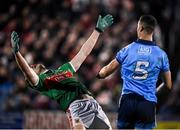 1 February 2020; James McCarthy of Dublin and Diarmuid O'Connor of Mayo tussle during the Allianz Football League Division 1 Round 2 match between Mayo and Dublin at Elverys MacHale Park in Castlebar, Mayo. Photo by Harry Murphy/Sportsfile
