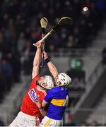 1 February 2020; Patrick Horgan of Cork in action against Seán O'Brien of Tipperary during the Allianz Hurling League Division 1 Group A Round 2 match between Cork and Tipperary at Páirc Uí Chaoimh in Cork. Photo by Eóin Noonan/Sportsfile