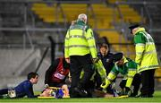 1 February 2020; John O'Dwyer of Tipperary receives medical attention during the Allianz Hurling League Division 1 Group A Round 2 match between Cork and Tipperary at Páirc Uí Chaoimh in Cork. Photo by Eóin Noonan/Sportsfile