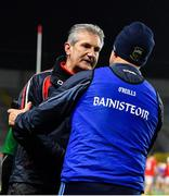 1 February 2020; Cork manager Kieran Kingston shakes hands with Tipperary manager Liam Sheedy following the Allianz Hurling League Division 1 Group A Round 2 match between Cork and Tipperary at Páirc Uí Chaoimh in Cork. Photo by Eóin Noonan/Sportsfile