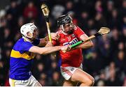 1 February 2020; Darragh Fitzgibbon of Cork is tackled by Séamus Kennedy of Tipperary during the Allianz Hurling League Division 1 Group A Round 2 match between Cork and Tipperary at Páirc Uí Chaoimh in Cork. Photo by Eóin Noonan/Sportsfile
