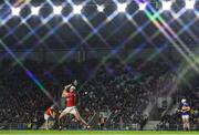 1 February 2020; (EDITOR'S NOTE: This image was created using a starburst filter) Patrick Horgan of Cork scores a free for his side during the Allianz Hurling League Division 1 Group A Round 2 match between Cork and Tipperary at Páirc Uí Chaoimh in Cork. Photo by Eóin Noonan/Sportsfile