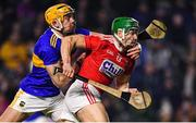 1 February 2020; Alan Cadogan of Cork is tackled by Seán O'Brien of Tipperary during the Allianz Hurling League Division 1 Group A Round 2 match between Cork and Tipperary at Páirc Uí Chaoimh in Cork. Photo by Eóin Noonan/Sportsfile