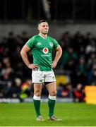 1 February 2020; John Cooney of Ireland during the Guinness Six Nations Rugby Championship match between Ireland and Scotland at the Aviva Stadium in Dublin. Photo by Seb Daly/Sportsfile