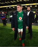 1 February 2020; Tadhg Furlong of Ireland following the Guinness Six Nations Rugby Championship match between Ireland and Scotland at the Aviva Stadium in Dublin. Photo by Ramsey Cardy/Sportsfile