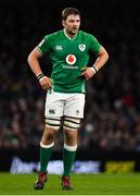 1 February 2020; Iain Henderson of Ireland during the Guinness Six Nations Rugby Championship match between Ireland and Scotland at the Aviva Stadium in Dublin. Photo by Brendan Moran/Sportsfile