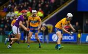 2 February 2020; Aidan McCarthy of Clare in action against Paul Morris of Wexford during the Allianz Hurling League Division 1 Group B Round 2 match between Wexford and Clare at Chadwicks Wexford Park in Wexford. Photo by Ray McManus/Sportsfile