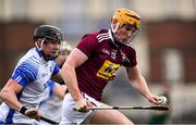 2 February 2020; Niall Mitchell of Westmeath in action against Iarlaith Daly of Waterford during the Allianz Hurling League Division 1 Group A Round 2 match between Westmeath and Waterford at TEG Cusack Park in Mullingar, Westmeath. Photo by Piaras Ó Mídheach/Sportsfile