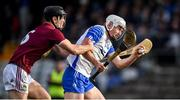 2 February 2020; Neil Montgomery of Waterford in action against Aonghus Clarke of Westmeath during the Allianz Hurling League Division 1 Group A Round 2 match between Westmeath and Waterford at TEG Cusack Park in Mullingar, Westmeath. Photo by Piaras Ó Mídheach/Sportsfile